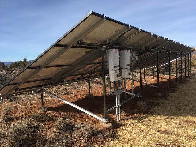 Ground Mount Solar System Durango Colorado Solar PV