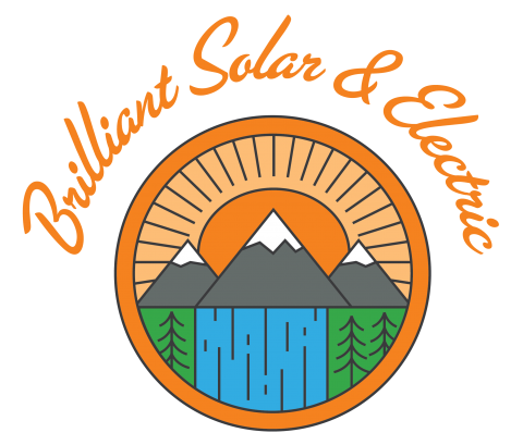 Brilliant Solar and Electric logo