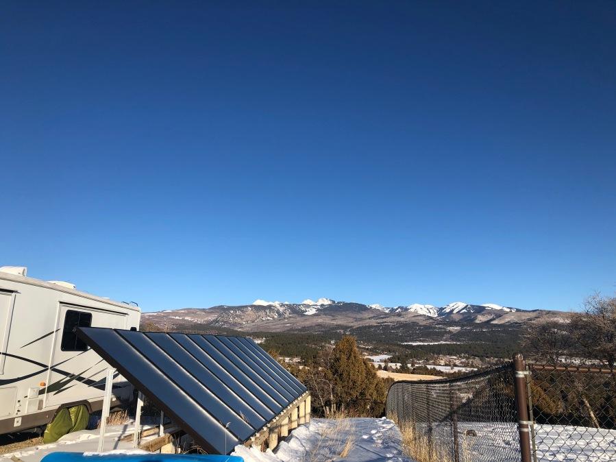 Solar Thermal System Mancos, Colorado