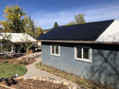 Solar Electric (PV) Array in Durango, CO