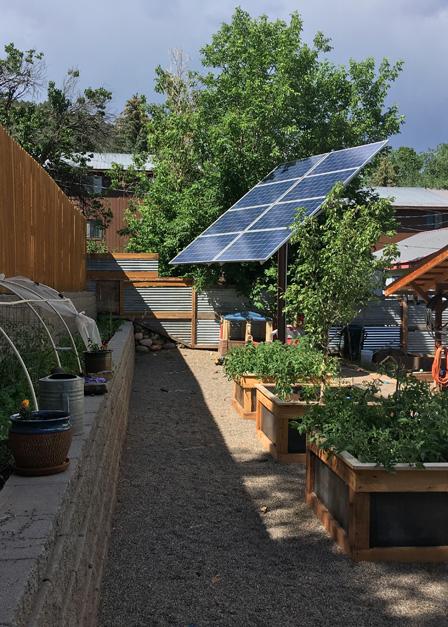 Solar Tracker System located in Durango, CO